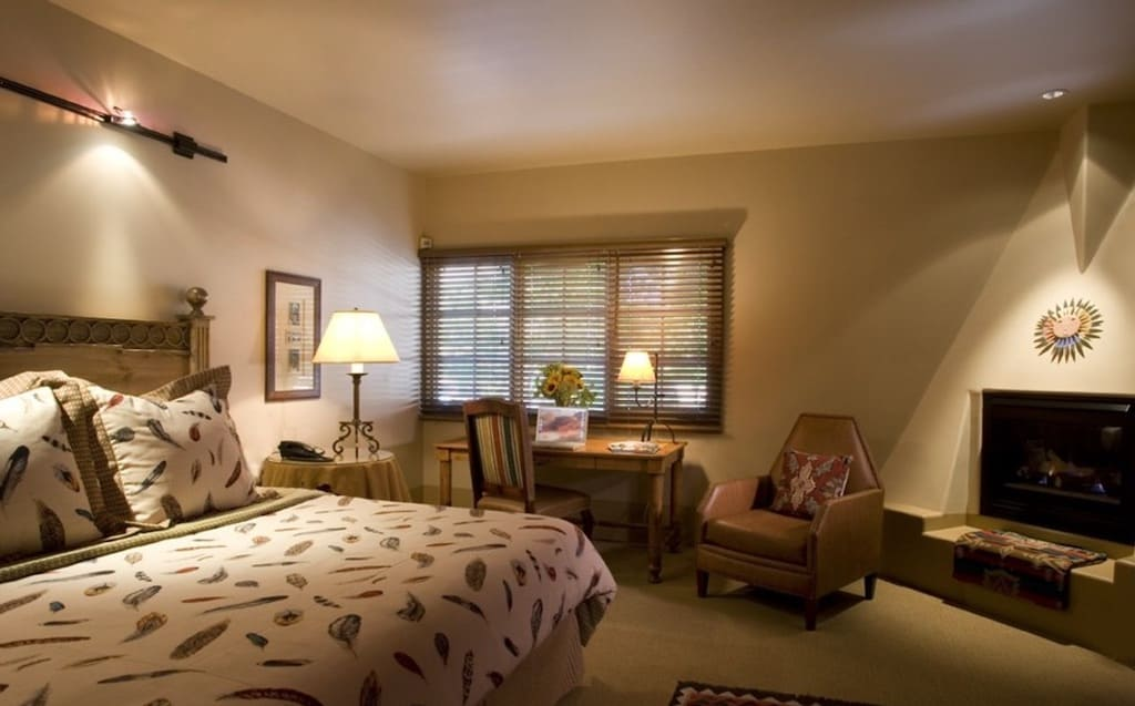 Small romantic hotel Santa Fe
