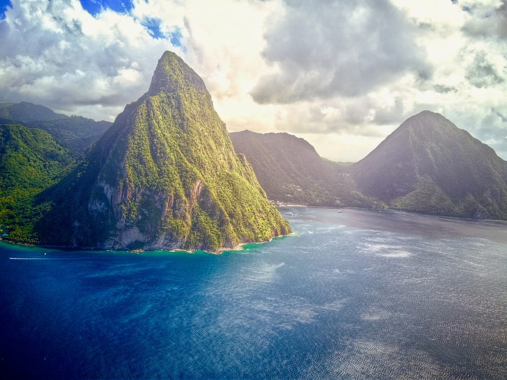 The Pitons St Lucia