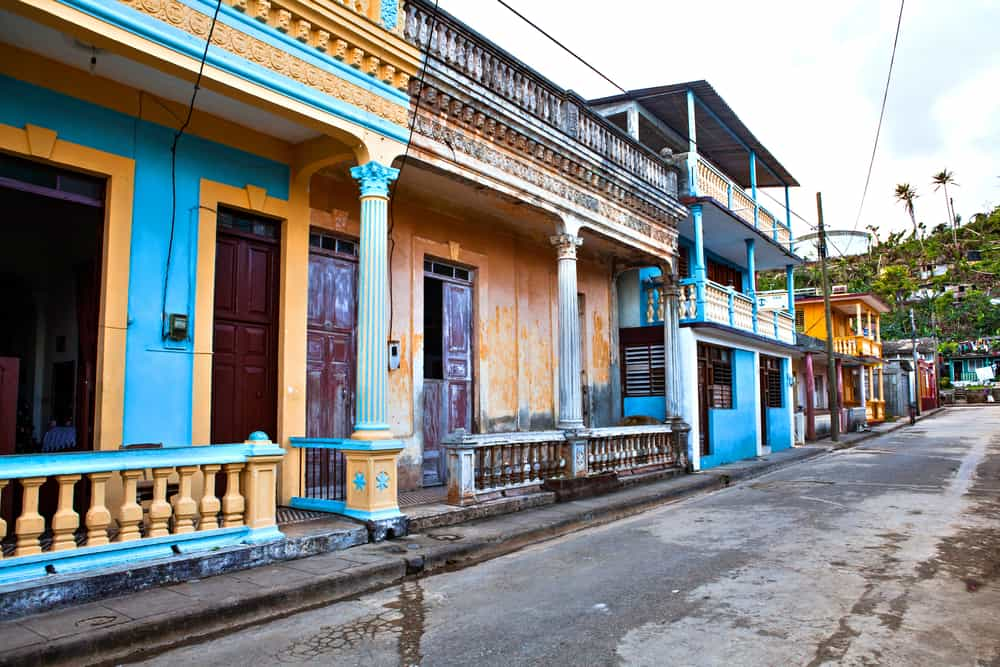 Baracoa City in Cuba