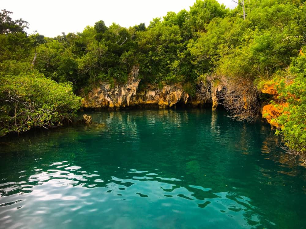 Blue Hole Park Bermuda