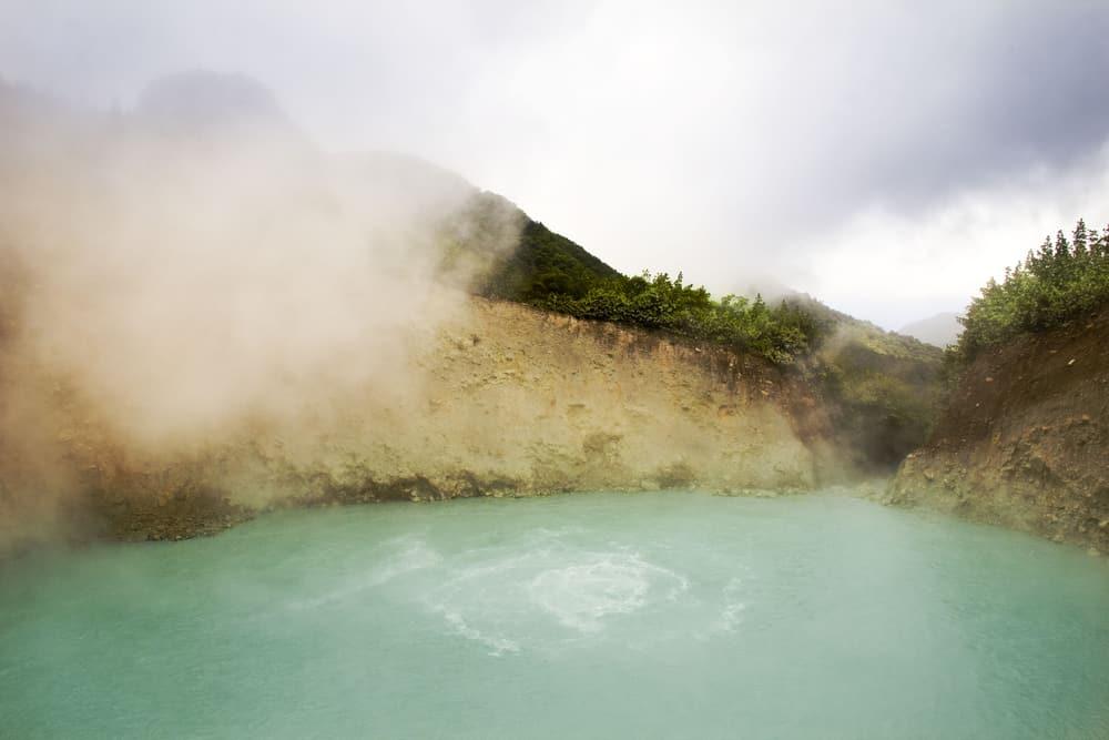 Boiling Lake Caribbean