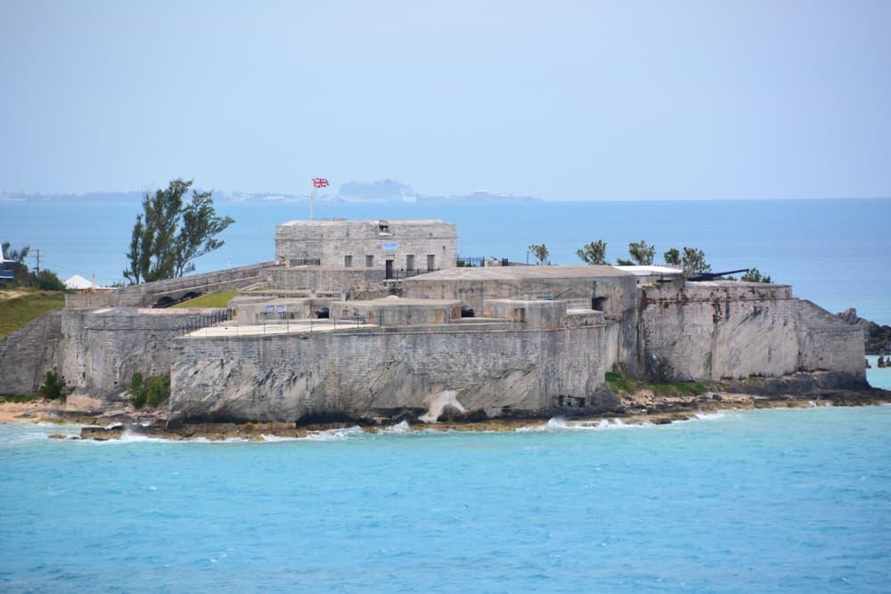 Fort St Catherine Bermuda