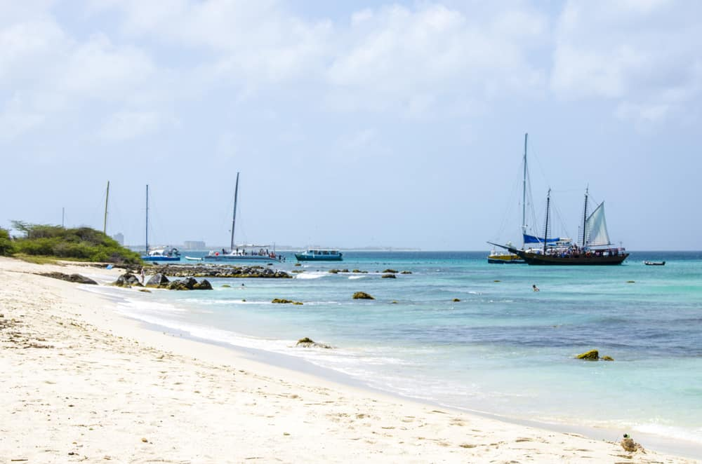 Malmok Beach Aruba