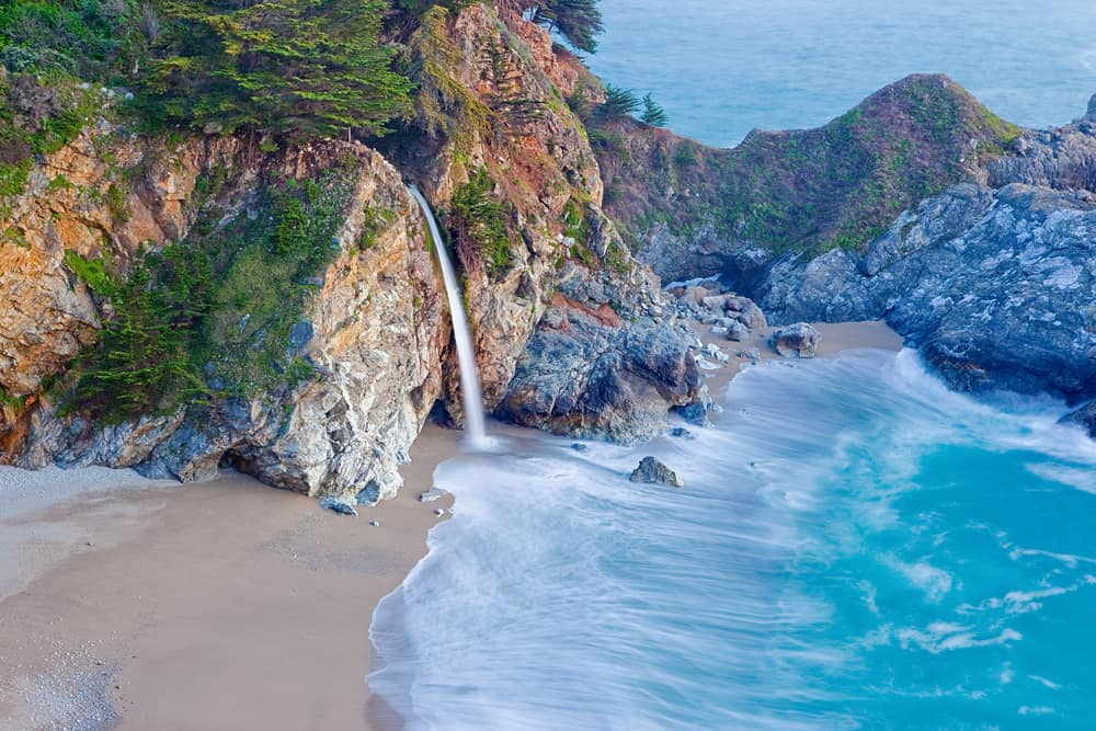 McWay Falls and Waterfall House