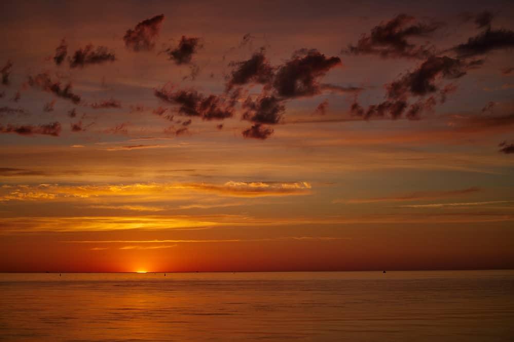 Pacific Sunset California