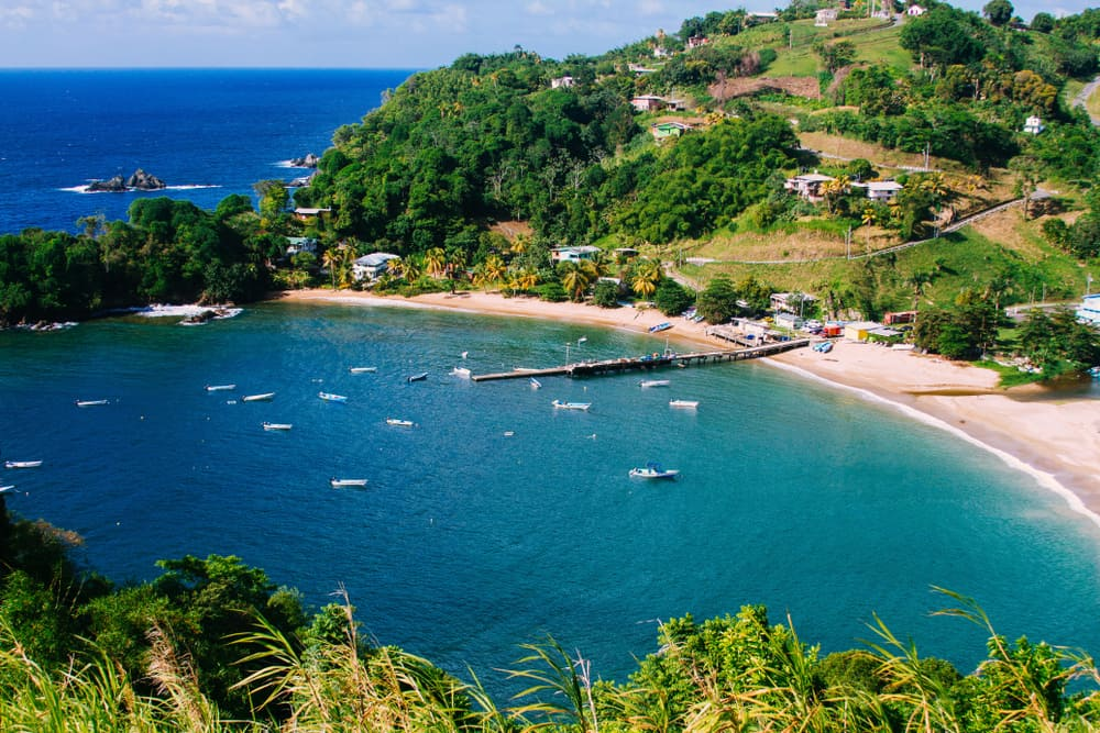Parlatuvier Bay Trinidad and Tobago