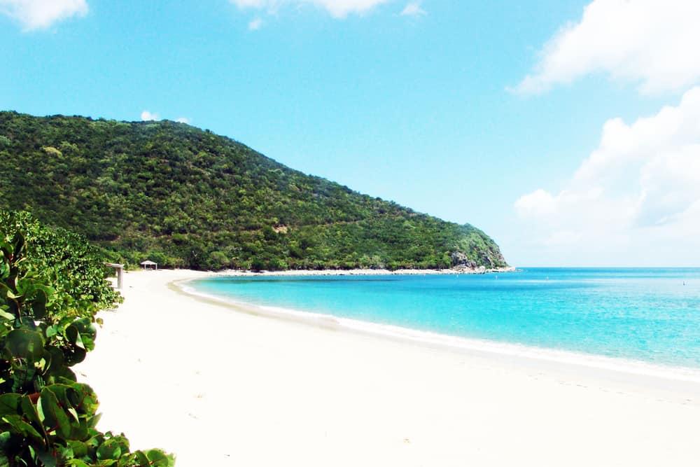 Peter Island Beach British Virgin Islands