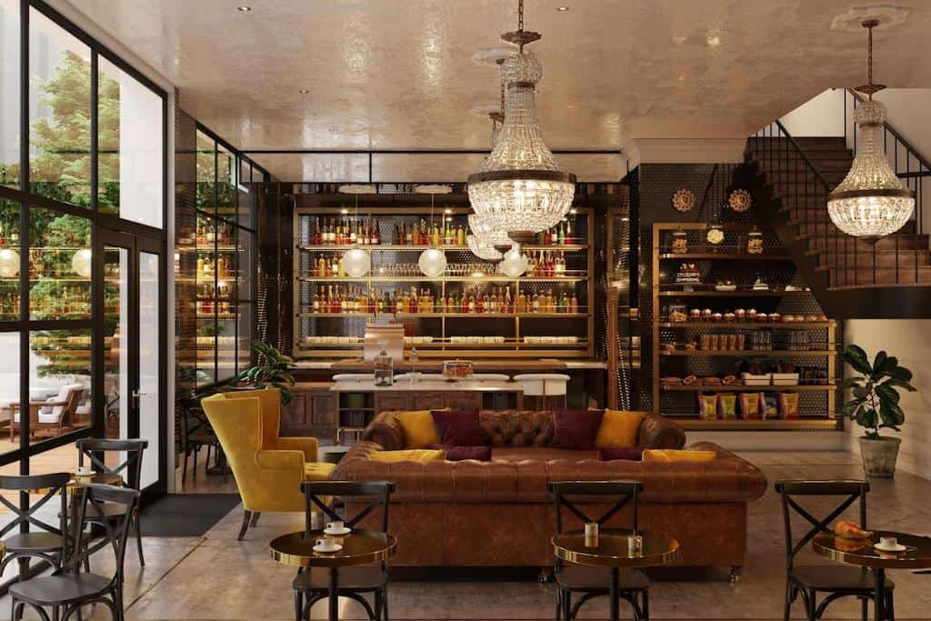 Romantic vintage hotel in Austin