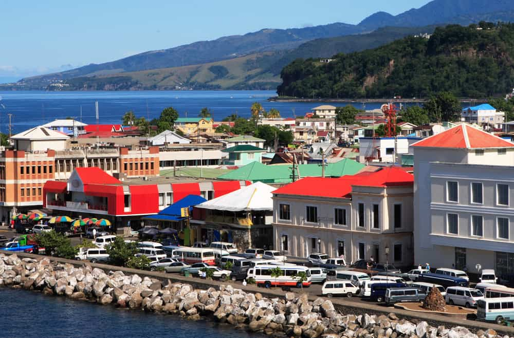 Roseau - best places to visit in Dominica