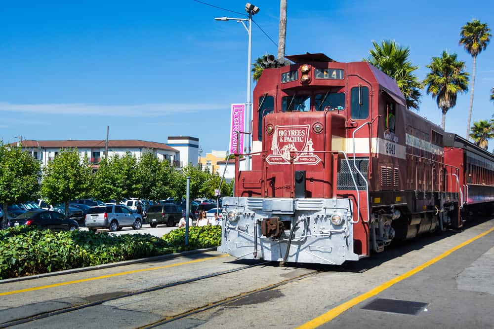 Santa Cruz Beach Steam Train