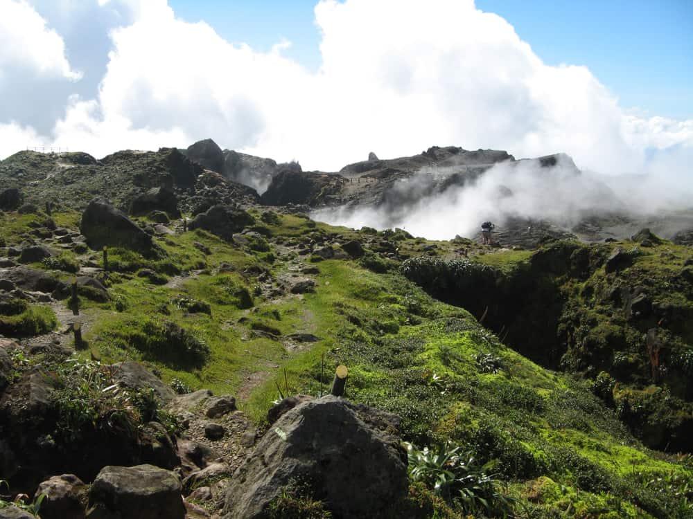 Soufrière Hills. Montserrat