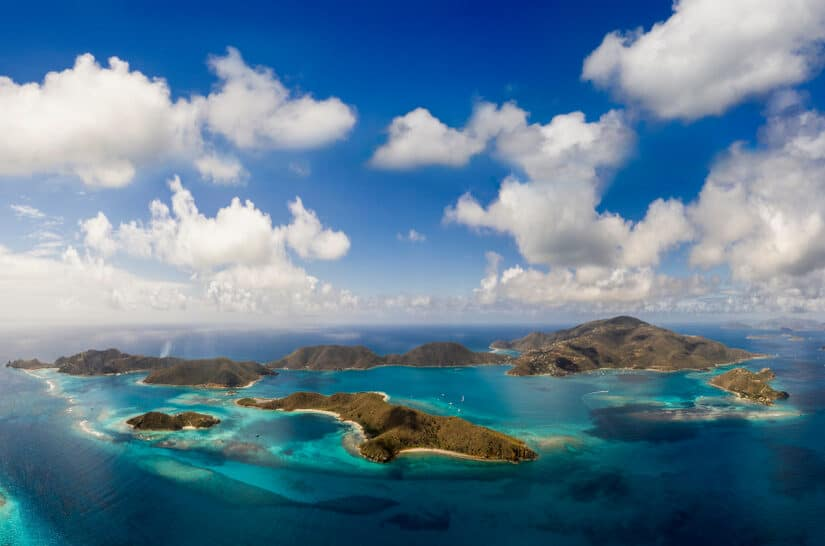 The best places to visit in The British Virgin Islands