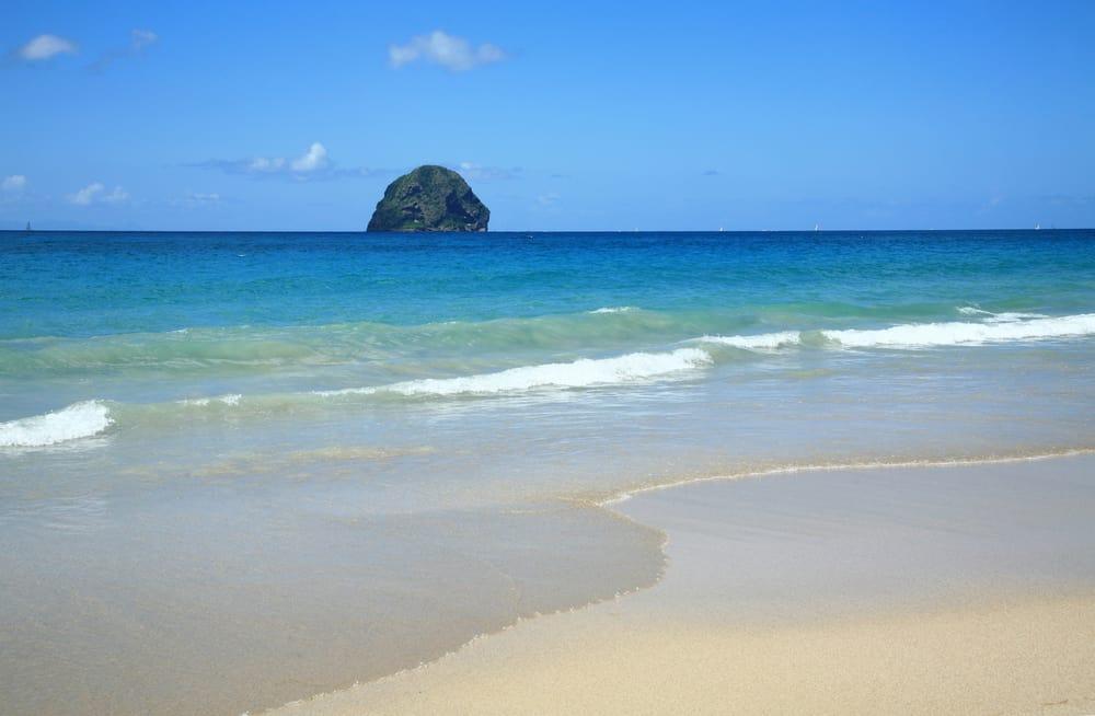 Diamond Beach in Martinique