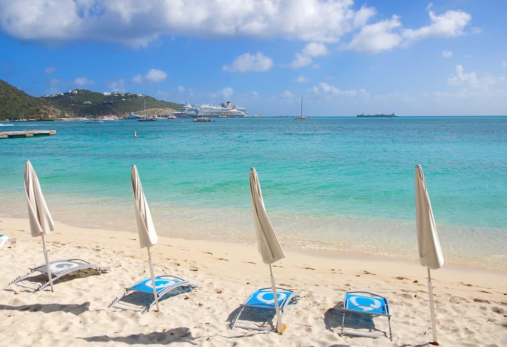Great Bay Beach Saint Martin