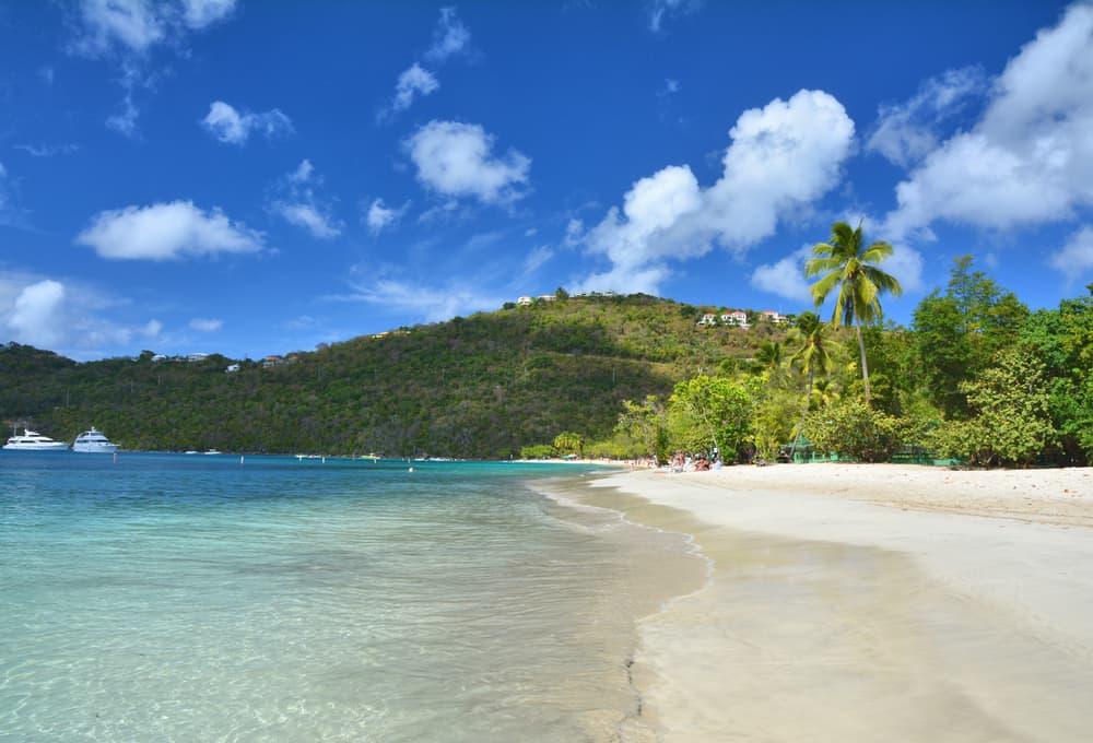 Magens Bay Beach, US Virgin Islands