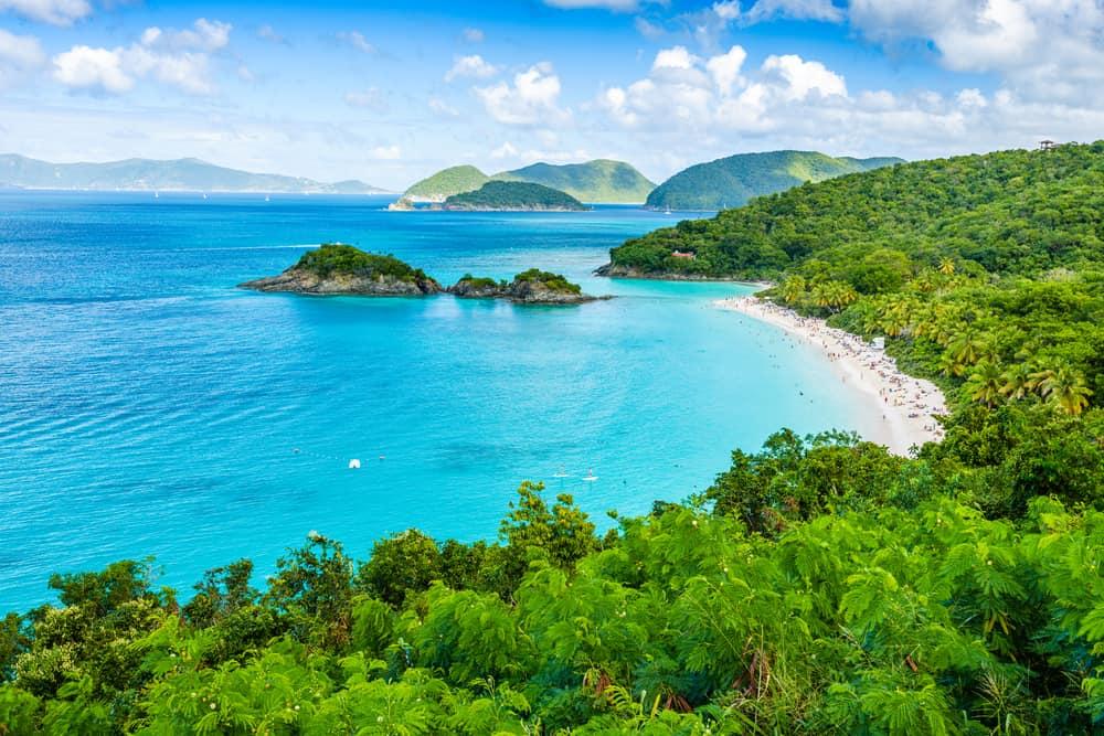 Trunk Bay Beach US Virgin Islands