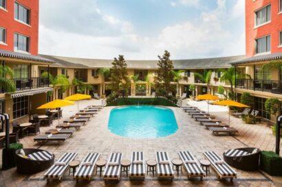 Fun hotel in Houston