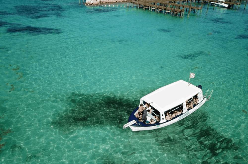 Glass Bottom Boat Tour Bahamas