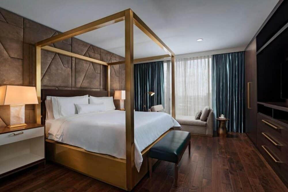 Modern hotel in Houston