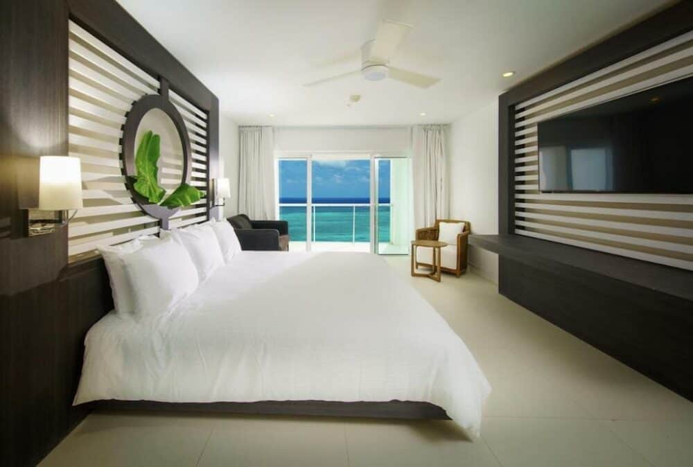Modern hotel in Jamaica