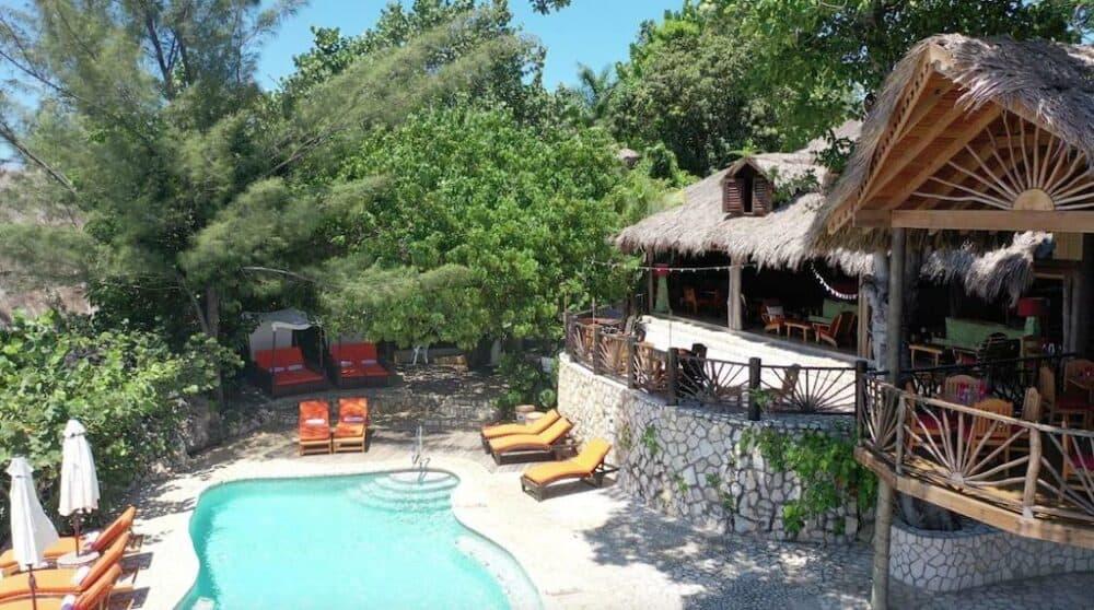 Pretty resort in Jamaica