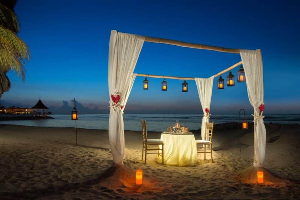 Romantic hotel in Jamaica