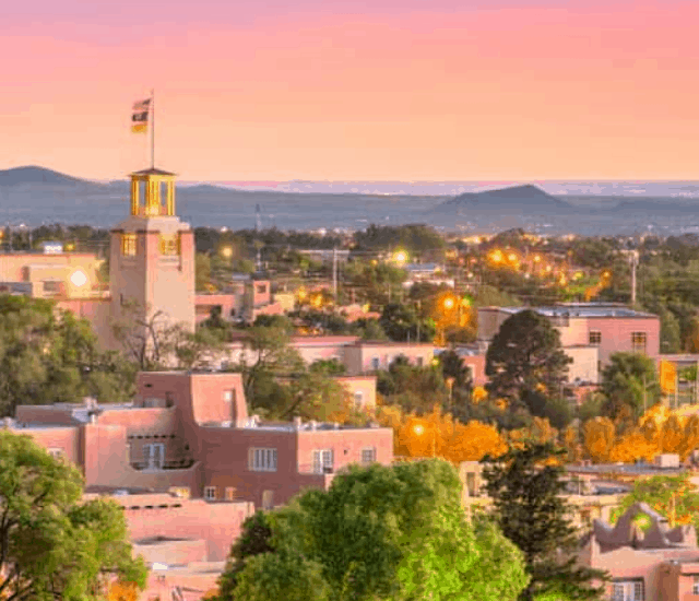 Top 12 Of The Most Romantic Hotels In Santa Fe Story Poster Image