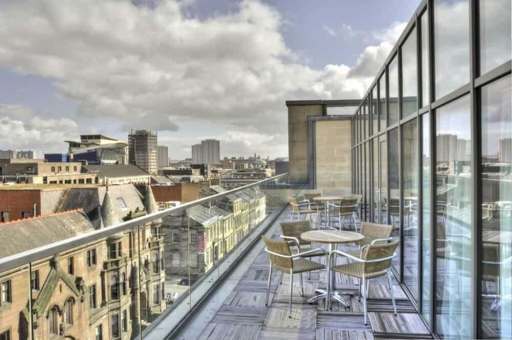 Trendy hotel in Glasgow