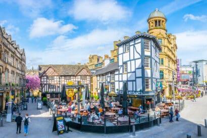 Best neighbourhoods in Manchester England